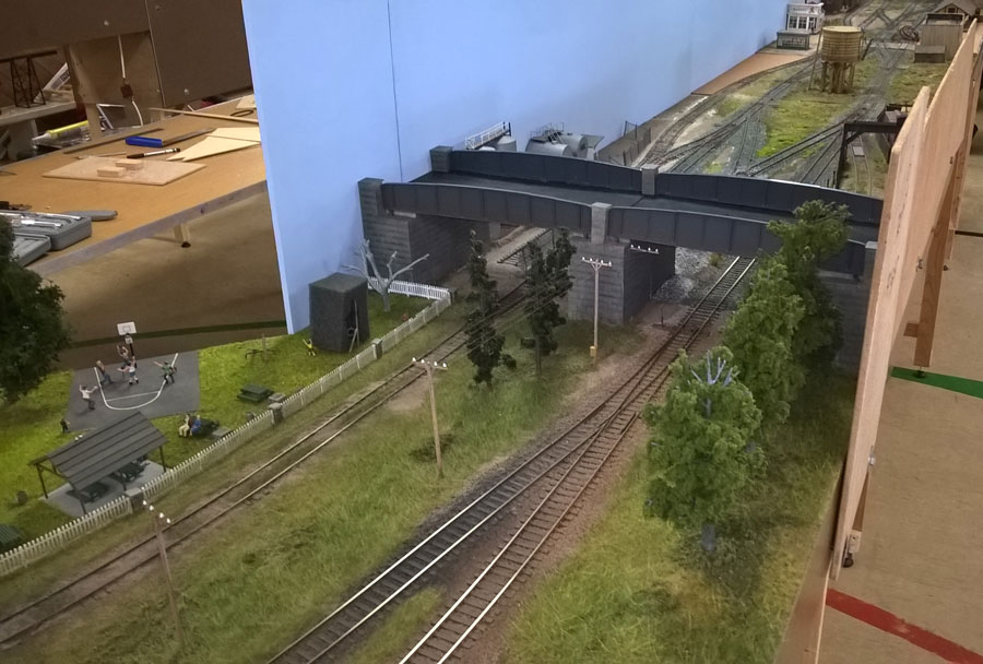 The join between the Freight Yard and the Depot